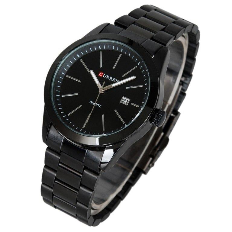 Мужские кварцевые часы наручные часы спортивные часы из нержавеющей стали Дата Часы